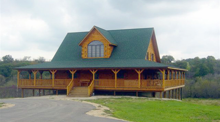 Lodge Front View